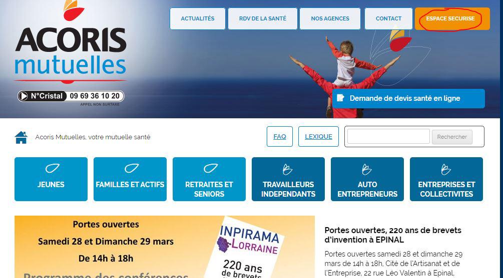acorismutuelles.fr