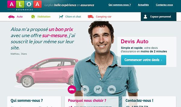 site officiel de aloa assurance