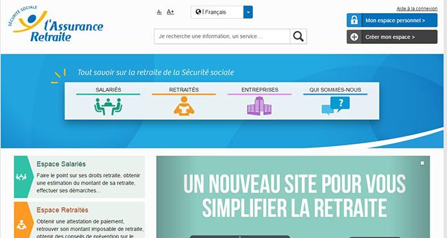 assurance retraite nouveau site