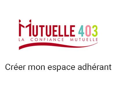 espace adhérent mutuelle 403