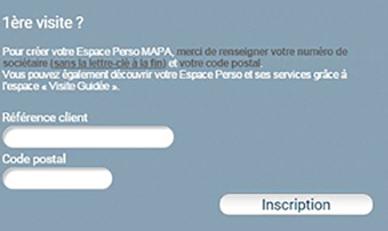 ouvrir espace client Mapa assurance