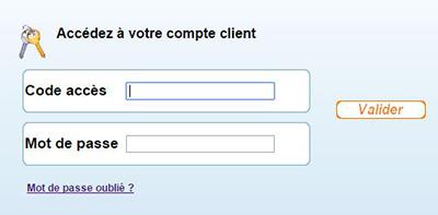 accès compte client mutuelle bleue