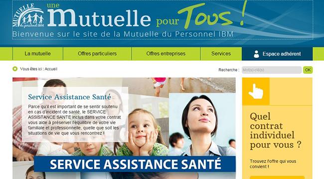 site officiel de la mutuelle du personnel de la ibm