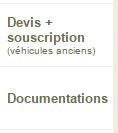 devis, souscription et documentation