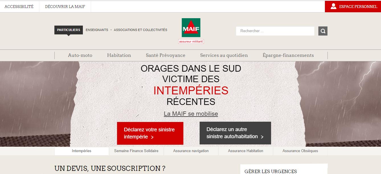 site maif.fr