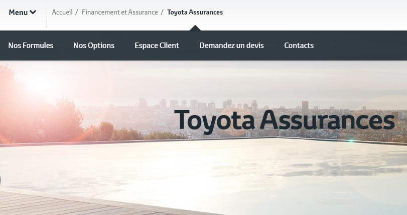 toyota assurances espace client