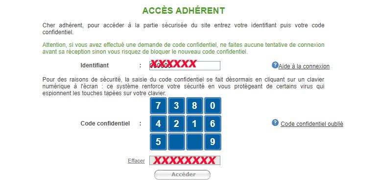 acces espace client afer
