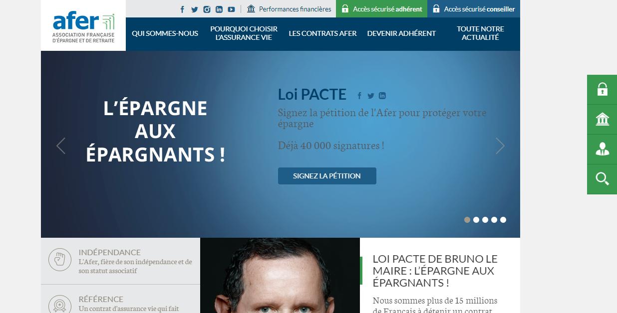l'Association Française d'Epargne et de Retraite