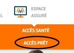 espace client pret