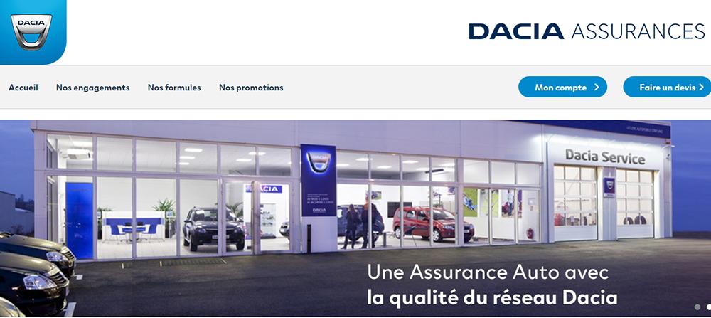 dacia assurance