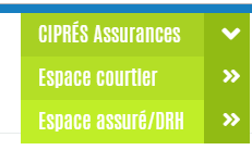 se connecter espace personnel cipres