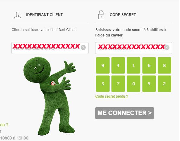 se connecter compte client cetelem