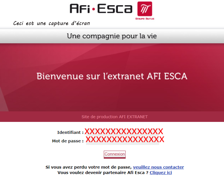 acces ancien extranet