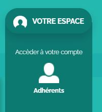se connecter espace adherent