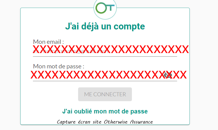 acces compte otherwise assurance