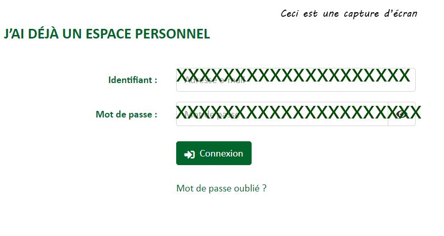 acces espace adherent ccmo